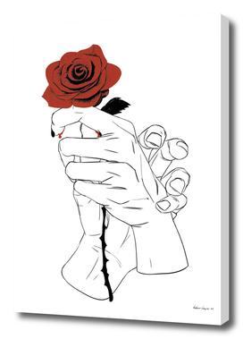 Hands - Human love _ BW Version