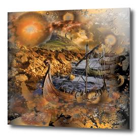 Lindesfarne Viking Raiders