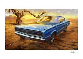 Desert Glory: 1967 Dodge Charger