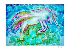 Flight of a Unicorn