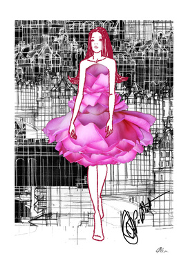 Rose Dress concept