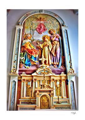 Catholic Art Holy Family