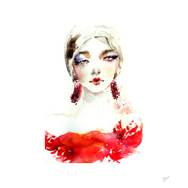 Fashion Illustration Marchesa