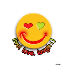 Boomgoo's Smile - live love laugh (42533)