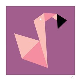 Origami Flamingo