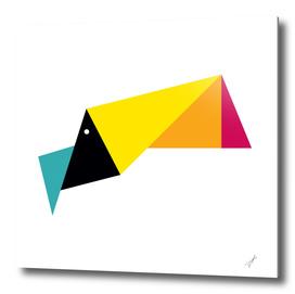 Origami Toucan