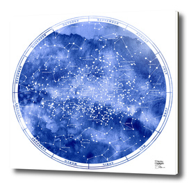 STAR MAP SOUTH