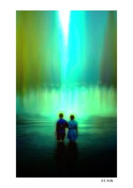 Jack & Jill in the Lake Shallows