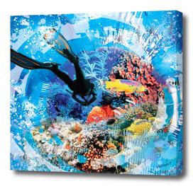 Under Water Scuba Diving