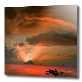 Fishing Sunset 2