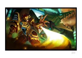 Techno Dragon