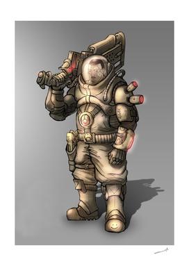 Spaceman soldier