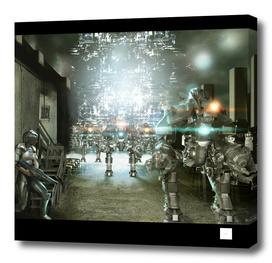 Sci-Fi Alleyway