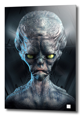 Big Head Alien