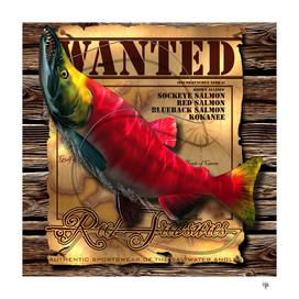 REEL TREASURES WANTED- Sockeye Salmon