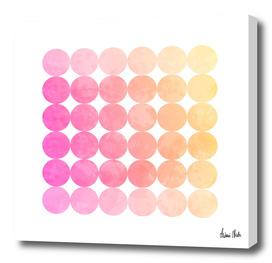 Abstract Circles   jazzy colors no. 1