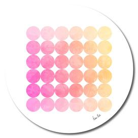 Abstract Circles | jazzy colors no. 1