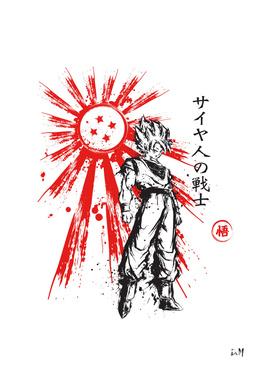 Saiyan Warrior