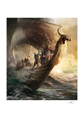 The Viking Boat