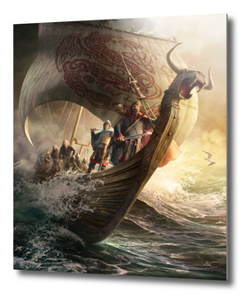 The Viking Boat