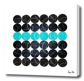 Abstract Circles   spiral pattern no. 3
