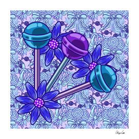 Blueberry Fun PLUS (Candy Pattern)