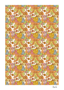 Long Old-fashioned Pastel (Candy Pattern)
