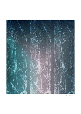 Italian Carrara Marble Revisited (Blue)