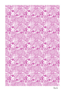 Long Soft Cotton (Candy Pattern)