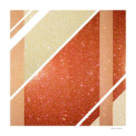 Full of glitter (orange)