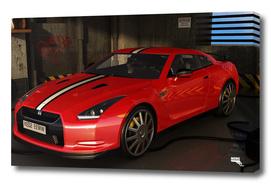 Parking + Nissan Gtr