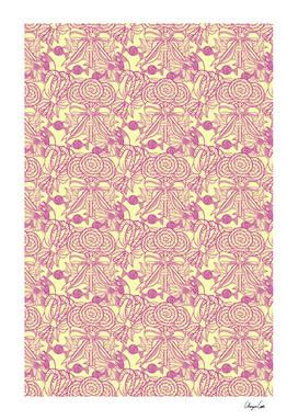 Long Yellow Bubblegum (Candy pattern)
