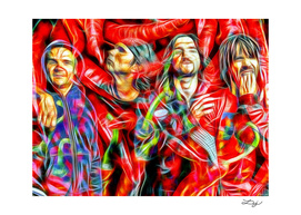 Red Hot Chili Peppers in Color