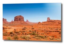 John Ford's Point Panorama- Monument Valley, Utah