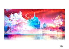 Artistic LXXII - Abstract Cityscape I