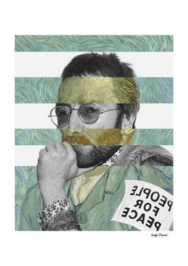 Van Gogh's Self Portrait & John Lennon