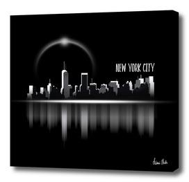 Graphic Art   A Dream of New York City no. 1