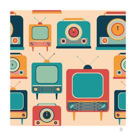 Retro TVs and Radios