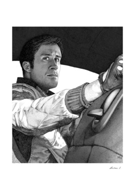 The Driver (B&W)