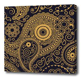 Vintage Pattern Gold