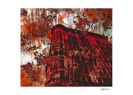 Red  Broadway by Lika Ramati