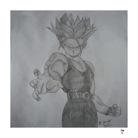 Dragonball Z Trunks Sketch
