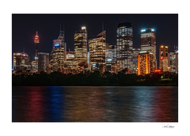 Sydney Skyline by Night