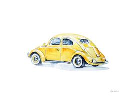 car yellow