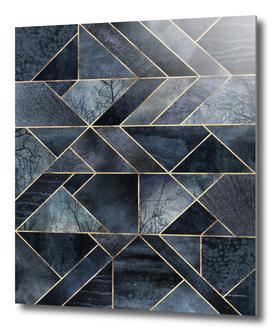 Abstract Nature - Dark Blue