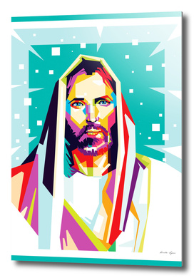Jesus Christ in WPAP art