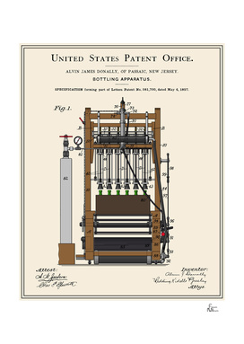Beer Bottler Patent