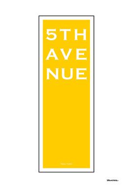5th Avenue - Yellow - NYC