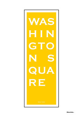 Washington Square - Yellow - NYC