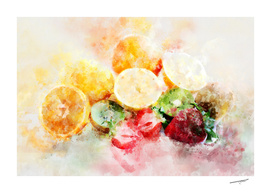 The Fruits Composition